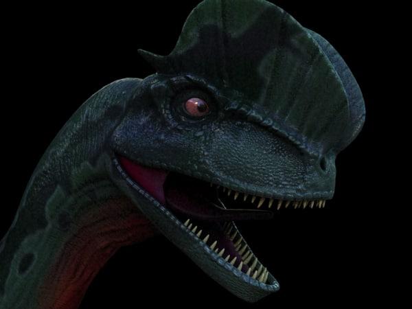 maya dilophosaurus fri...