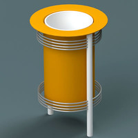 dustbin 04 3d 3ds