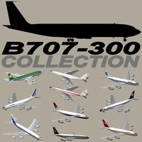 B 707-300 Collection