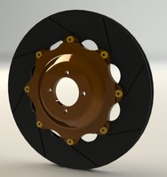 3d model brake disk rotor
