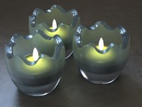 CHRISTMAS CANDLE LITE HOLDER