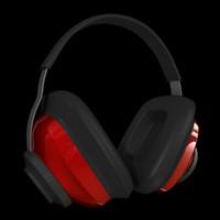 3d ear muffs model