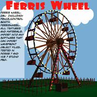 ferris wheel ferriswheel 3d model