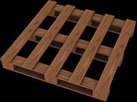 pallet boards 3d 3ds