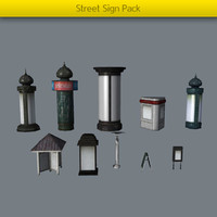 Street Sign Pack