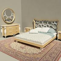 bedroom mobilfresno fabric 3ds
