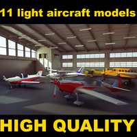 Light aircraft collection