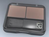 blush makeup 3d model