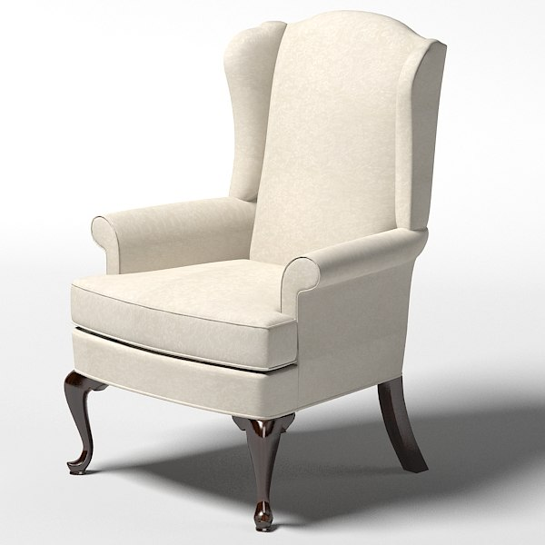 classic classical thomasville Bocelli Chair  wing chair armchair .jpg