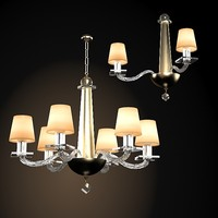 donghia modern contemporary crystal glass chandelier sconce