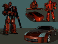 maya mtms scout robot 350z
