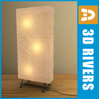 3d floor lamp room divider model