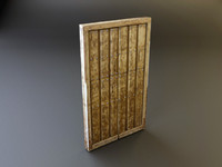3d medieval doors