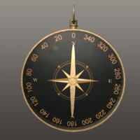 3d compass magnetic model