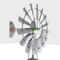 3d wind powered pump
