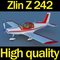 3d model zlin z 242