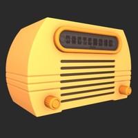 max vintage radio