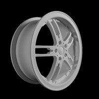 donz escobar rims car 3d max