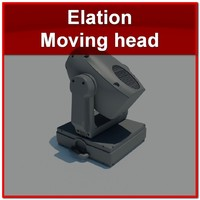 elation 250p moving head 3d max
