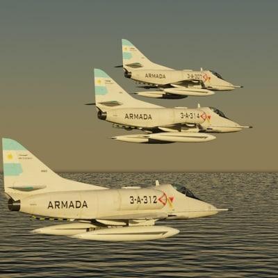 3d argentine navy a4 q model