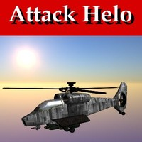 attack helicopter 3d lw