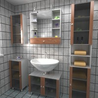 3ds max bathroom textur