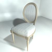 3d chair xiv