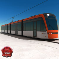 Low-floor light rail vehicle Variobahn Bybanen V4