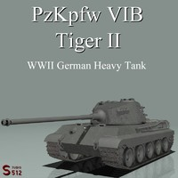 lightwave king tiger tank pzkpfw