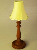 Wood turning desk lamp.max