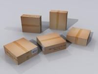 cd box 3d model