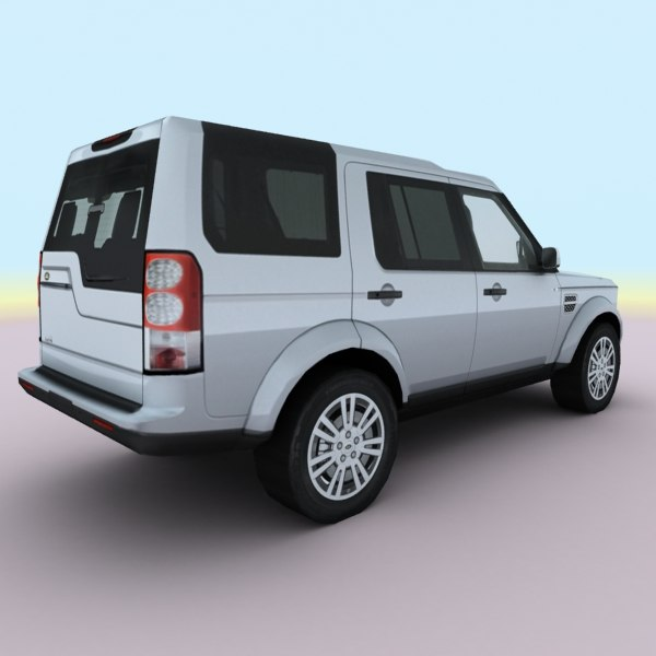 3d Model Of 2010 European Suv