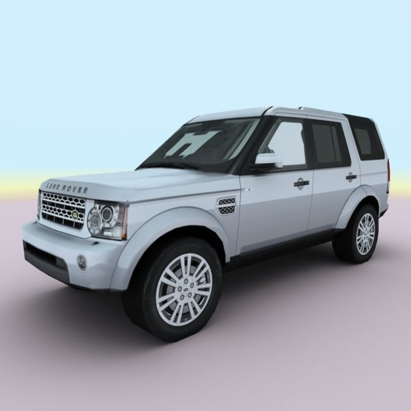 Land Rover 2010 Price: 3d Model Of 2010 European Suv