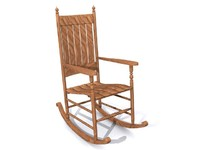 maya wooden chair rocking