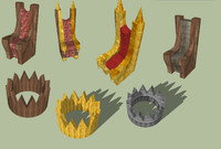 3ds pack thrones crowns