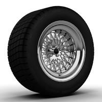 3dsmax chrome wheels