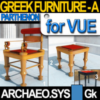 Greek Parthenon Furniture [448-438 BC]