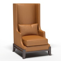 BAKER WING CHAIR WINGBACK high modern