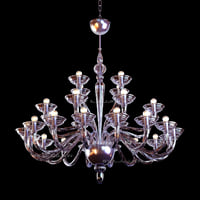 Chandelier Murano glass big