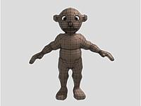 free monkey 3d model