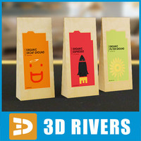 Coffee paper packs by 3DRivers