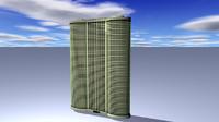 3d commercial rise building