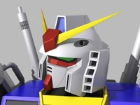 3d package rx-78 gundam gm