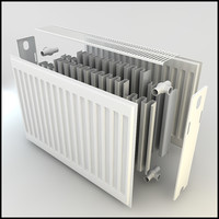 extremely radiator details solid 3d model