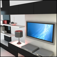 TV / Wall Unit Modern Design X_20