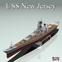 USS New Jersey Battleship