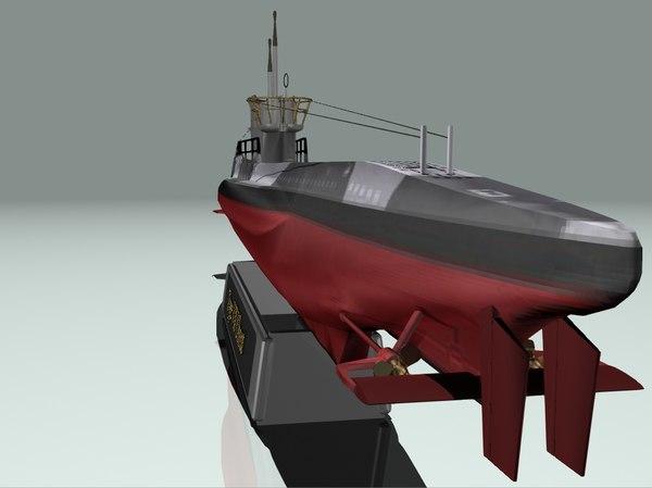 German submarine U-709