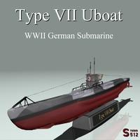 Type VII U-boat