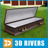 3ds max coffin brown