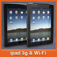 apple ipad tablet pc 3d 3ds